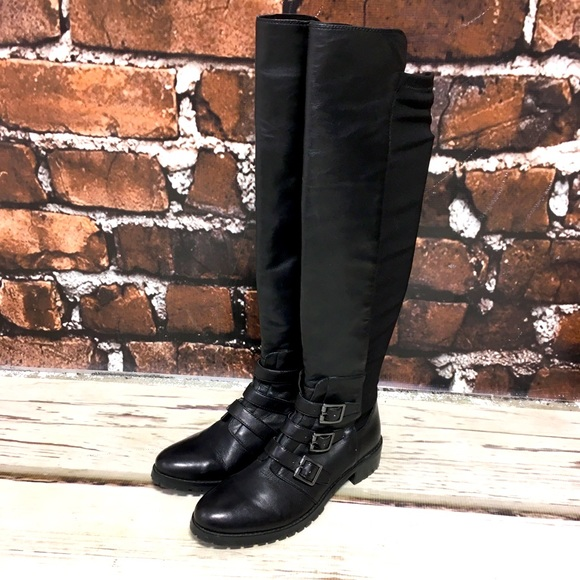 Vince Camuto Boots Jayce Knee High Riding 7.5